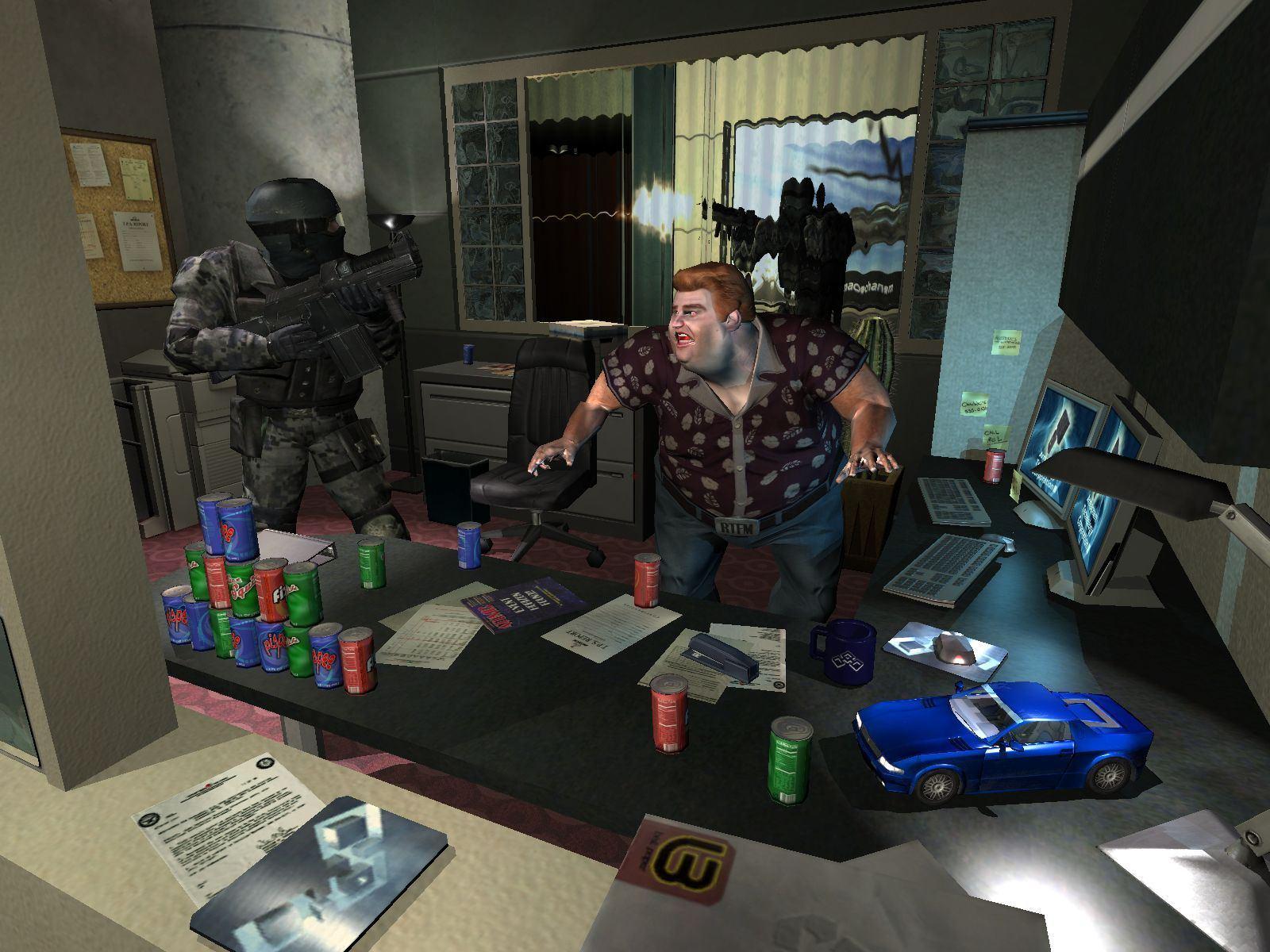F.E.A.R. скриншот к игре.