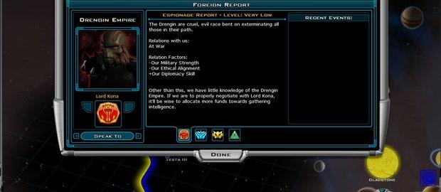 Galactic Civilizations II: The Dread Lords News