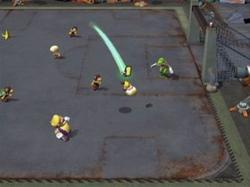 Super Mario Strikers Screenshot from Shacknews