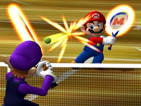 Mario Power Tennis Screenshot from Shacknews