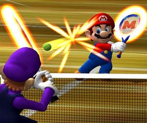 Mario Power Tennis Screenshots
