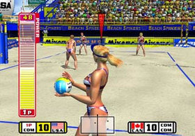 Beach Spikers Screenshot from Shacknews