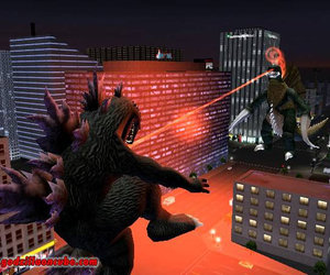 Godzilla: Destroy All Monsters - Melee Screenshots