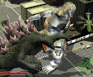 Godzilla: Destroy All Monsters - Melee Files