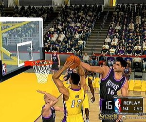 NBA Courtside 2002 Screenshots