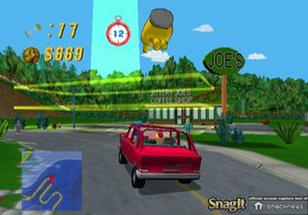 Simpsons Road Rage Screenshot from Shacknews