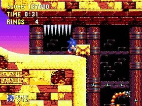 Sonic Mega Collection Screenshot from Shacknews