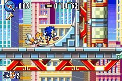 Sonic Advance 3 Chat