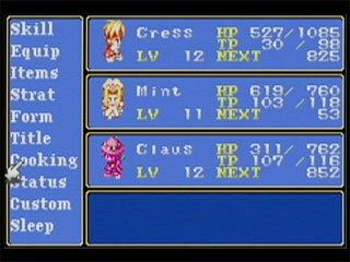 Tales of Phantasia Files