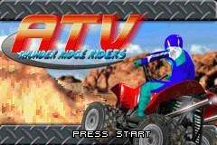 ATV: Thunder Ridge Riders Chat