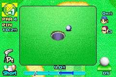 Mario Golf: Advance Tour Screenshots