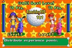 Mario Golf: Advance Tour Screenshots