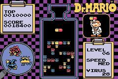 Classic NES Series: Dr. Mario Screenshots