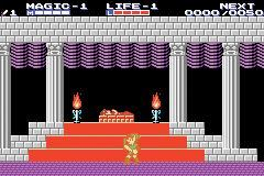 Classic NES Series: Zelda II Screenshots