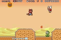 Super Mario Advance 4: Super Mario Bros 3 Chat
