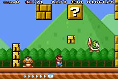 Super Mario Advance 4: Super Mario Bros 3 Screenshots