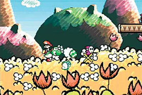 Yoshi's Island: Super Mario Advance 3 Screenshot from Shacknews