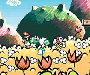 Yoshi's Island: Super Mario Advance 3 Chat
