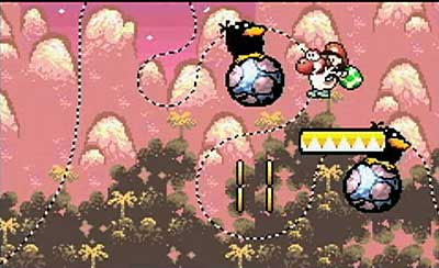Yoshi's Island: Super Mario Advance 3 Screenshots