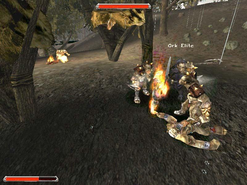gothic ii gold pc rpg release dec 5 2005 esrb m game screenshots