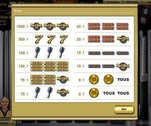 Hard Rock Casino Screenshots