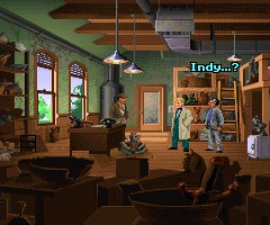Indiana Jones and the Fate of Atlantis Chat