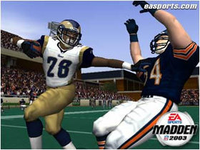 Madden NFL 2003 Screenshot from Shacknews