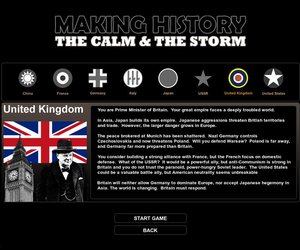 Making History: The Calm & the Storm Screenshots