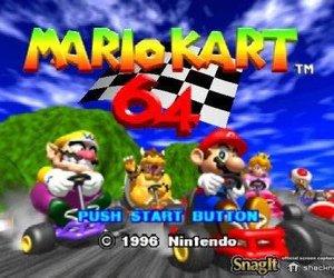 Mario Kart 64 Screenshots