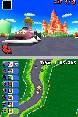 Mario Kart DS Chat