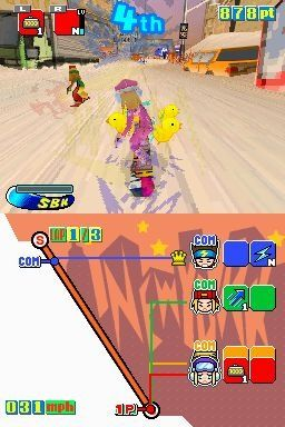 Snowboard Kids Screenshots