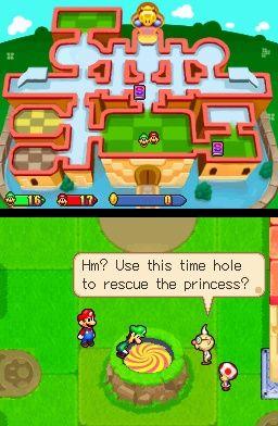Mario & Luigi: Partners in Time Screenshots