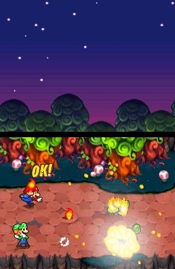Mario & Luigi: Partners in Time Screenshots