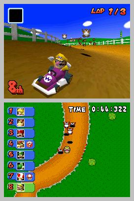 Mario Kart DS Screenshots