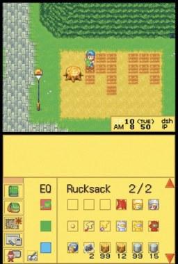 Harvest Moon DS Screenshots