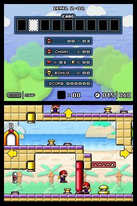 Mario vs. Donkey Kong 2: March of the Minis Screenshots