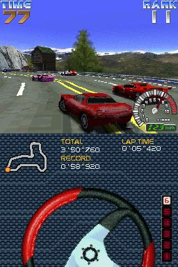 Ridge Racer DS Screenshots