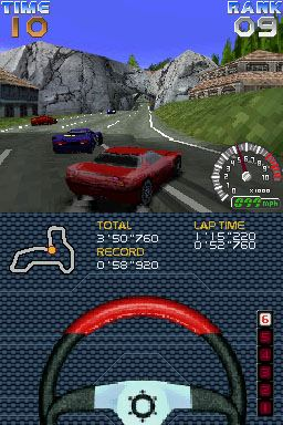 Ridge Racer DS Chat