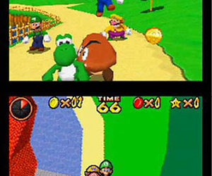 Super Mario 64 DS Screenshots