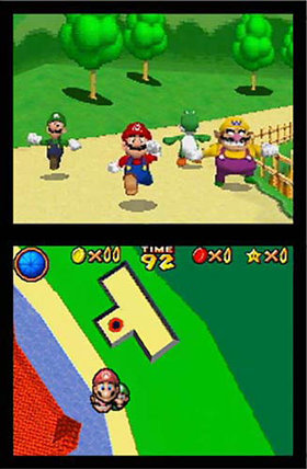 Super Mario 64 DS Screenshot from Shacknews