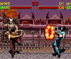 Mortal Kombat II Chat