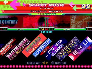 Dance Dance Revolution Konamix Screenshots