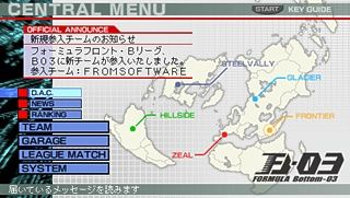 Armored Core: Formula Front Files
