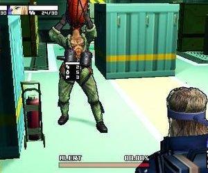 Metal Gear Acid 2 Screenshots