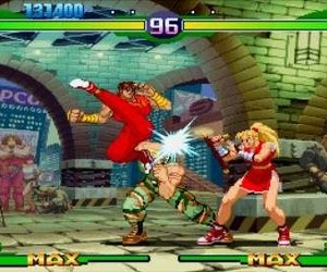 Street Fighter Alpha 3 MAX Screenshots