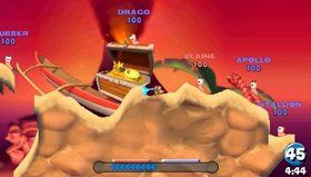 Worms: Open Warfare Screenshot from Shacknews