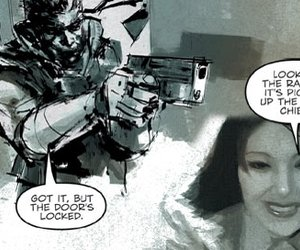 Metal Gear Solid Digital Graphic Novel Screenshots