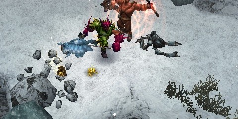Dungeon Siege: Throne of Agony Screenshots