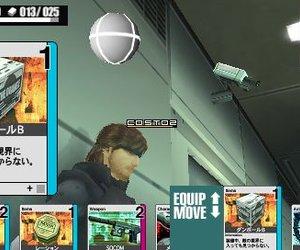 Metal Gear Acid Screenshots