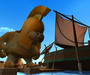 Worms Forts: Under Siege! Screenshots